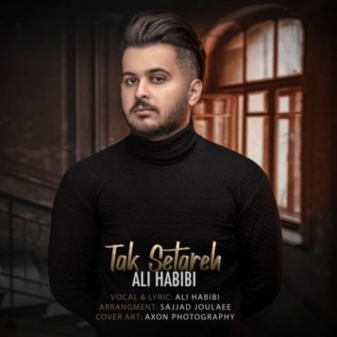 دانلود آهنگ جدید علی حبیبی تک ستاره
