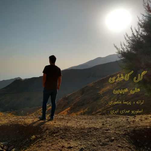 دانلود آهنگ جدید علی حبیبی گل کاغذی