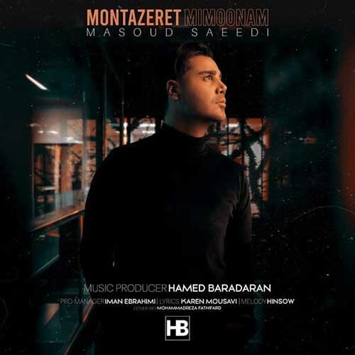 دانلود آهنگ جدید مسعود سعیدی منتظرت میمونم
